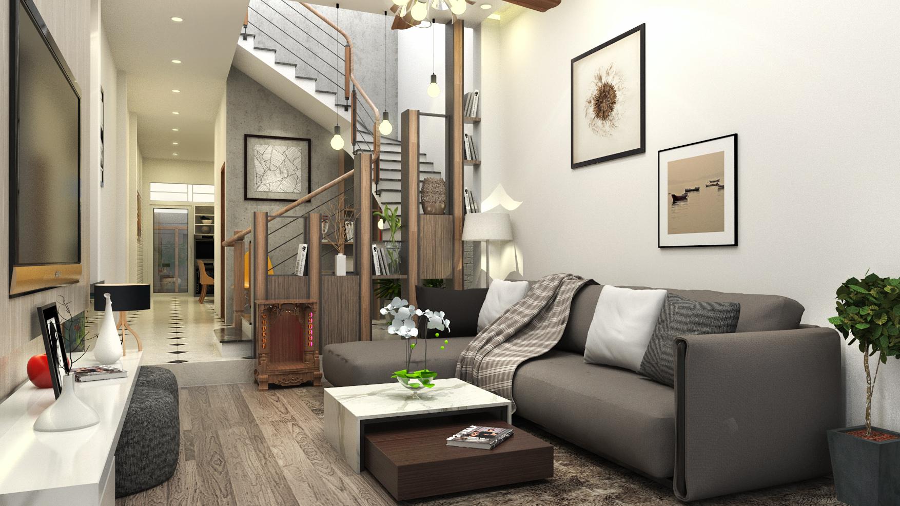 Dự án thiết kế thi công nội thất biệt thự quận 9