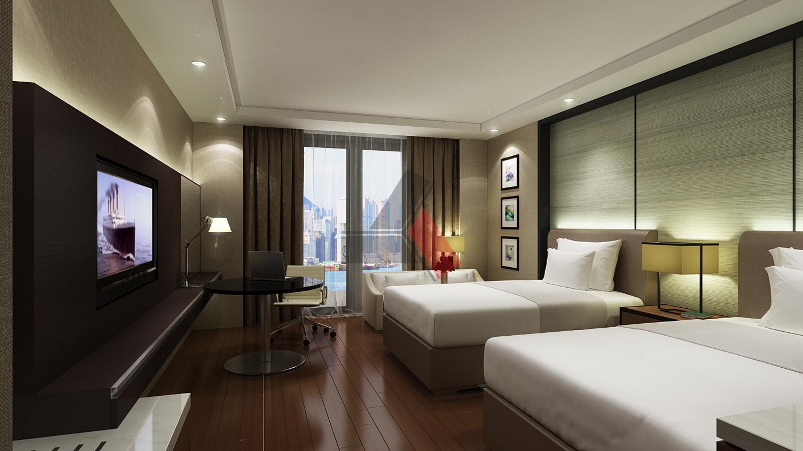 Dự án thiết kế nội thất khách sạn Mockup Grand Hotel