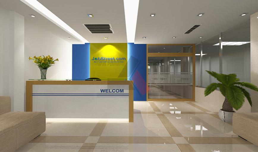 Dự án thiết kế thi công nội thất văn phòng Jobstresst