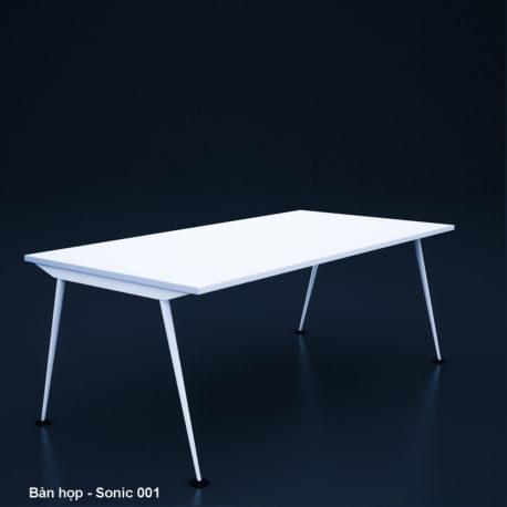Thiết kế & Thi công nội thất văn phòng – Bàn họp – Sonic 001