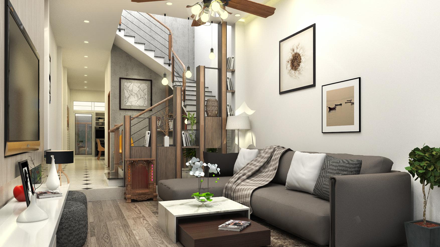 Dự án thiết kế thi công căn hộ quận 9 - Anh Khánh