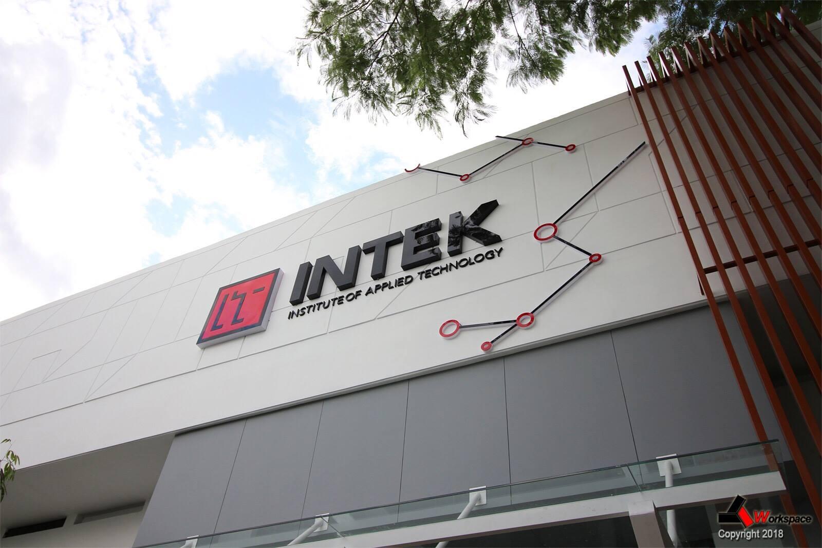 Dự án thiết kế thi công nội thất văn phòng INTEK