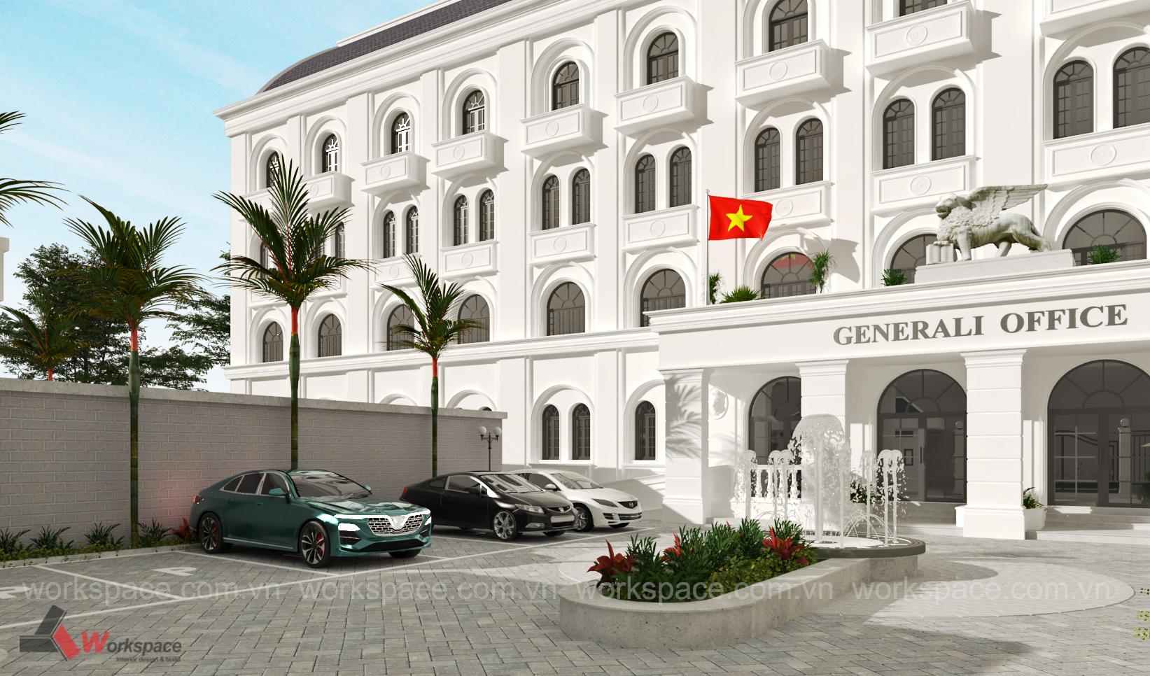 Dự án Tòa nhà văn phòng Generali Vietnam Life Insurance