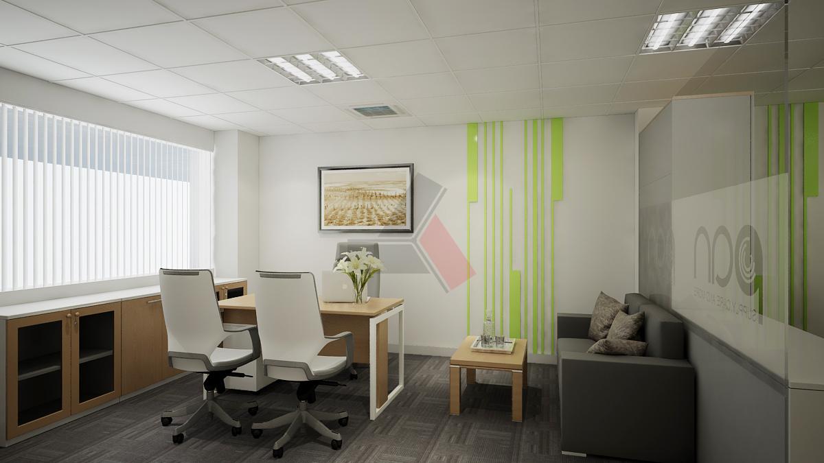 Dự án thiết kế thi công nội thất văn phòng PAN Office