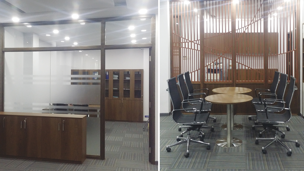 Dự án thiết kế thi công nội thất văn phòng công ty Thiên Hương
