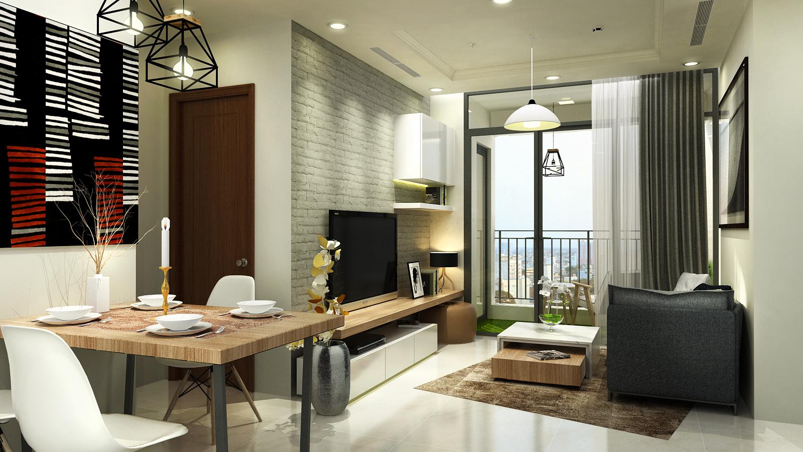 Dự án thiết kế thi công nội thất căn hộ cao cấp VinHomes Central Park